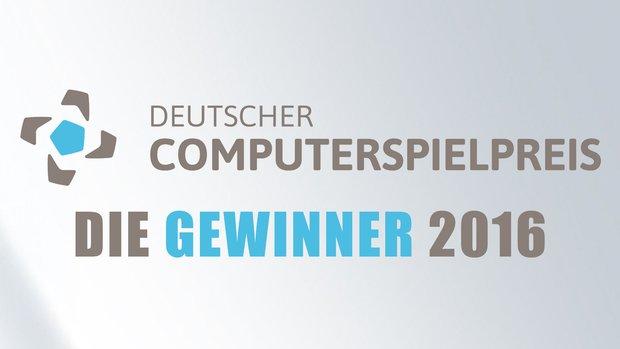 Deutscher Computerspielpreis: Das sind die Gewinner des Jahres 2016
