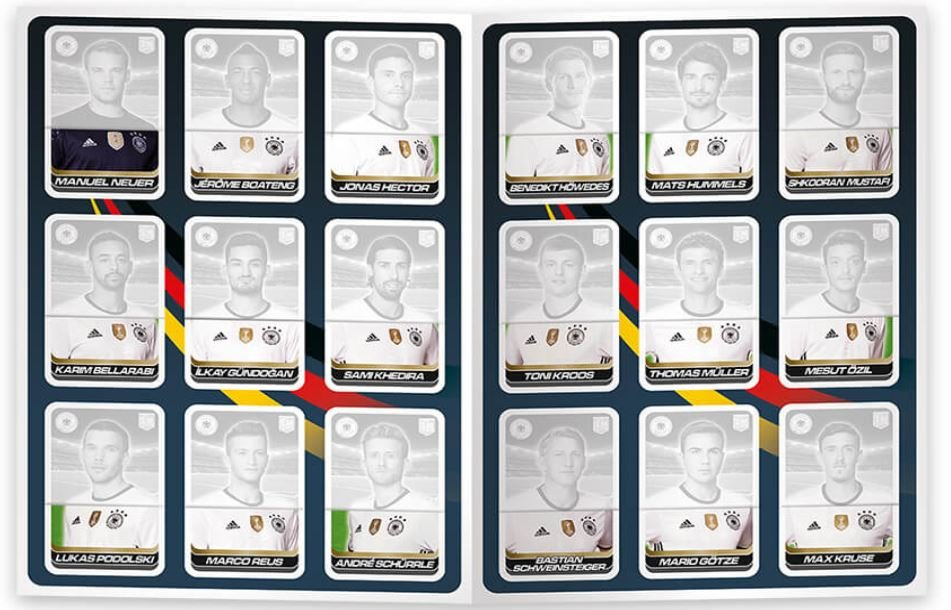 DFB Team Card Collector