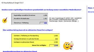 DISI Haushaltsbuch SINGLE Download