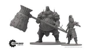 Dark Souls: Brettspiel beinhaltet Ornstein & Smough als Mini-Figuren