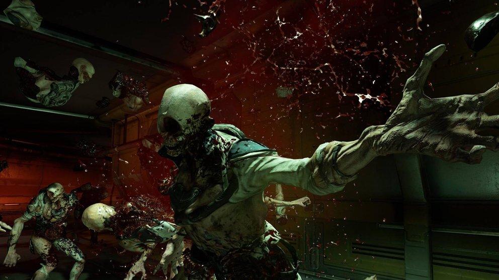 Doom wird blutig.