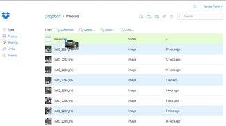 Dropbox 0.7 mit LAN-Sync