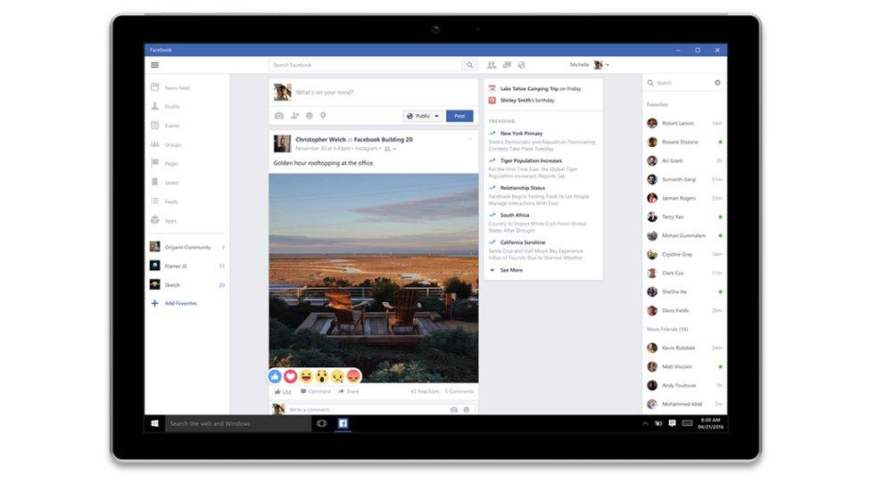 facebook download für windows phone