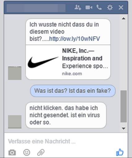 Facebook Ich wusste nicht Link