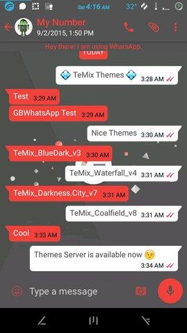 GBWhatsApp Themes 02