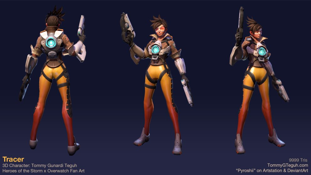 Tracer aus Overwatch bekommt bald eine Rolle bei Heroes of the Storm.