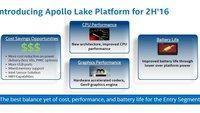 """Intel """"Apollo Lake""""-Plattform: Billigprozessoren für günstigere Geräte vorgestellt"""