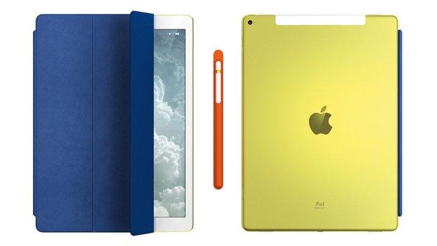 Apples Design-Team kreiert gelbes iPad Pro und Apple-Pencil-Hülle