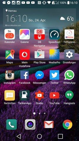 LG G5 Homescreen