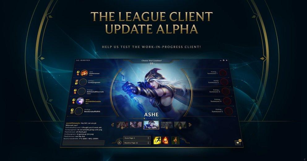 league of legends anmelden