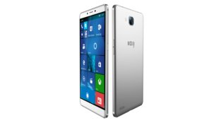 MOly W6 PCPhone: 6 Zoll Windows 10 Mobile-Smartphone mit Continuum-Funktion