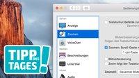 Mac-Tipp: Zoom für kleine Bildschirme verwenden