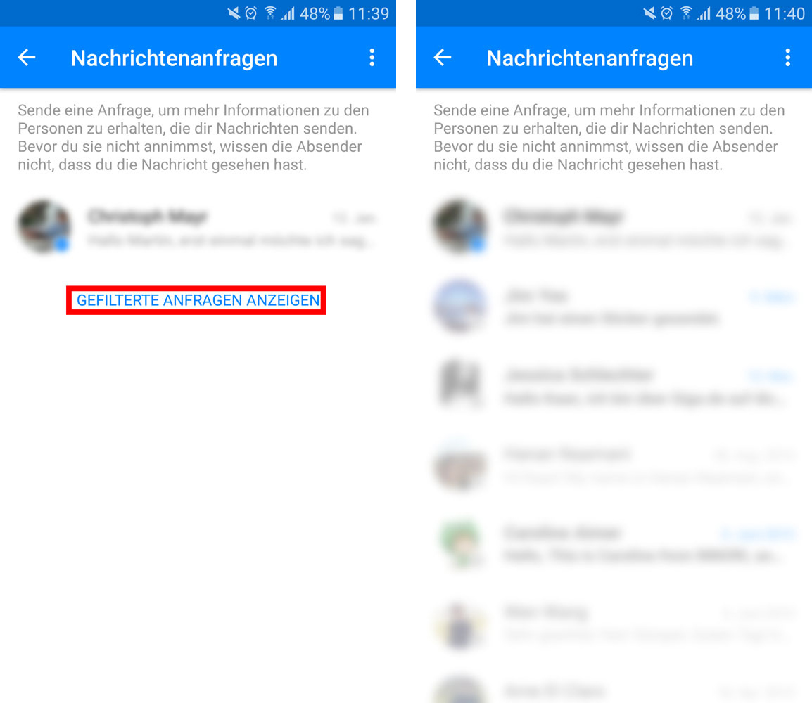 facebook chat funktioniert nicht