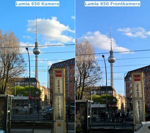 Microsoft Lumia 650 Test Vergleich Kamera Frontkamera
