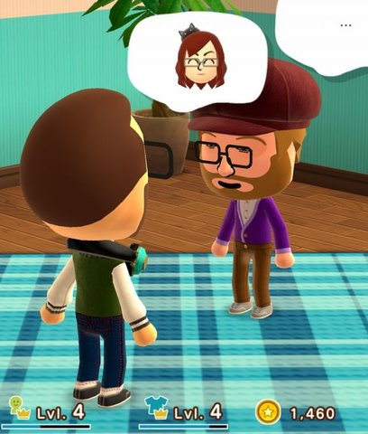 Miitomo Level steigern