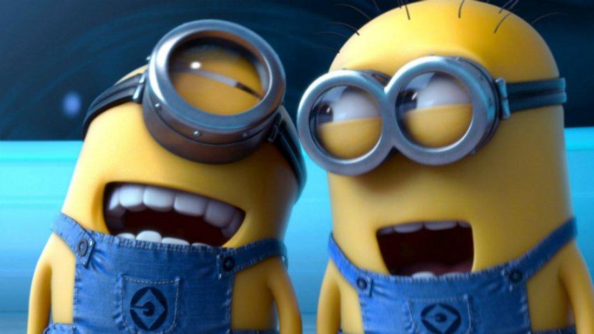 Die Minions Im Kino