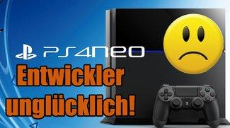 PlayStation Neo: Entwickler mit dem neuen Modell angeblich gar nicht glücklich