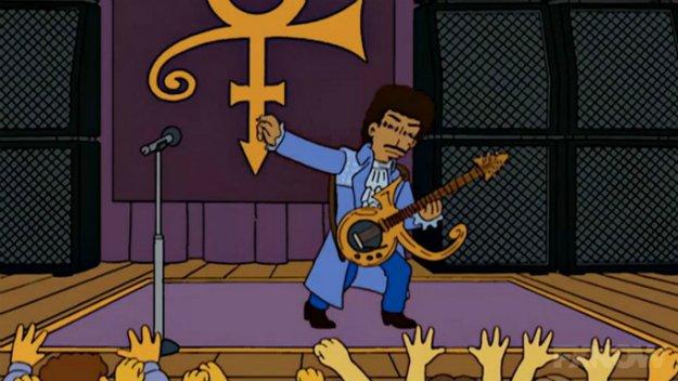 Purple Rain in Springfield: So hätte die Episode mit Prince bei den Simpsons ausgesehen