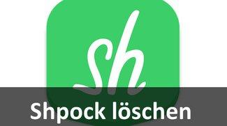 Shpock löschen: So könnt ihr die Flohmarkt-App deinstallieren