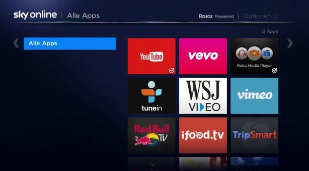 Sky Online Apps