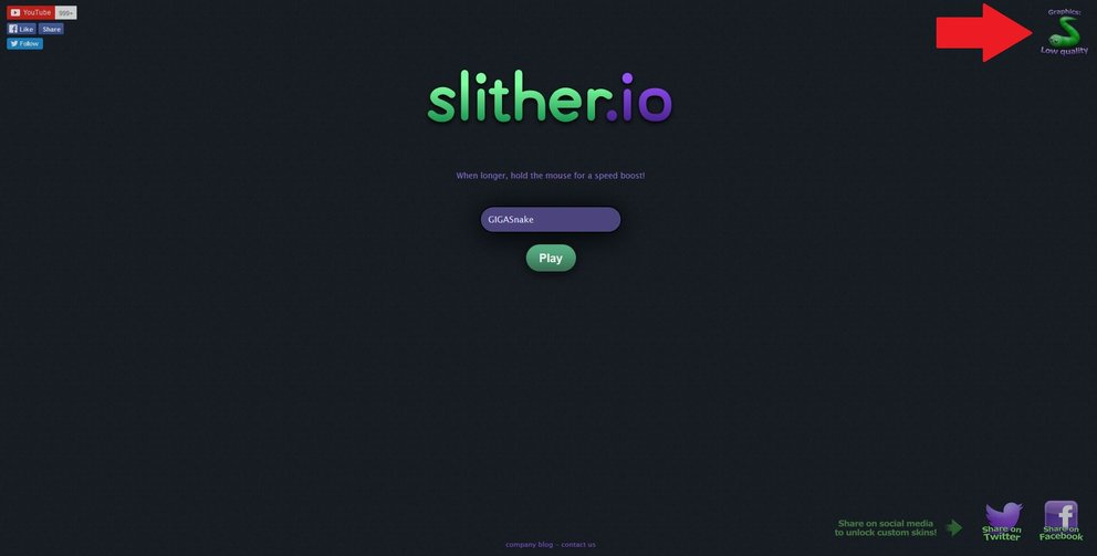 Slither.io Low Quality