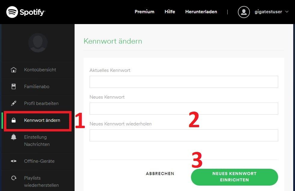 Spotify Kontodaten Г¤ndern