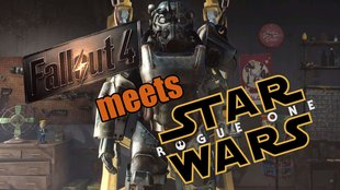 Star Wars Rogue One meets Fallout 4: Fan stellt Trailer im Spiel nach