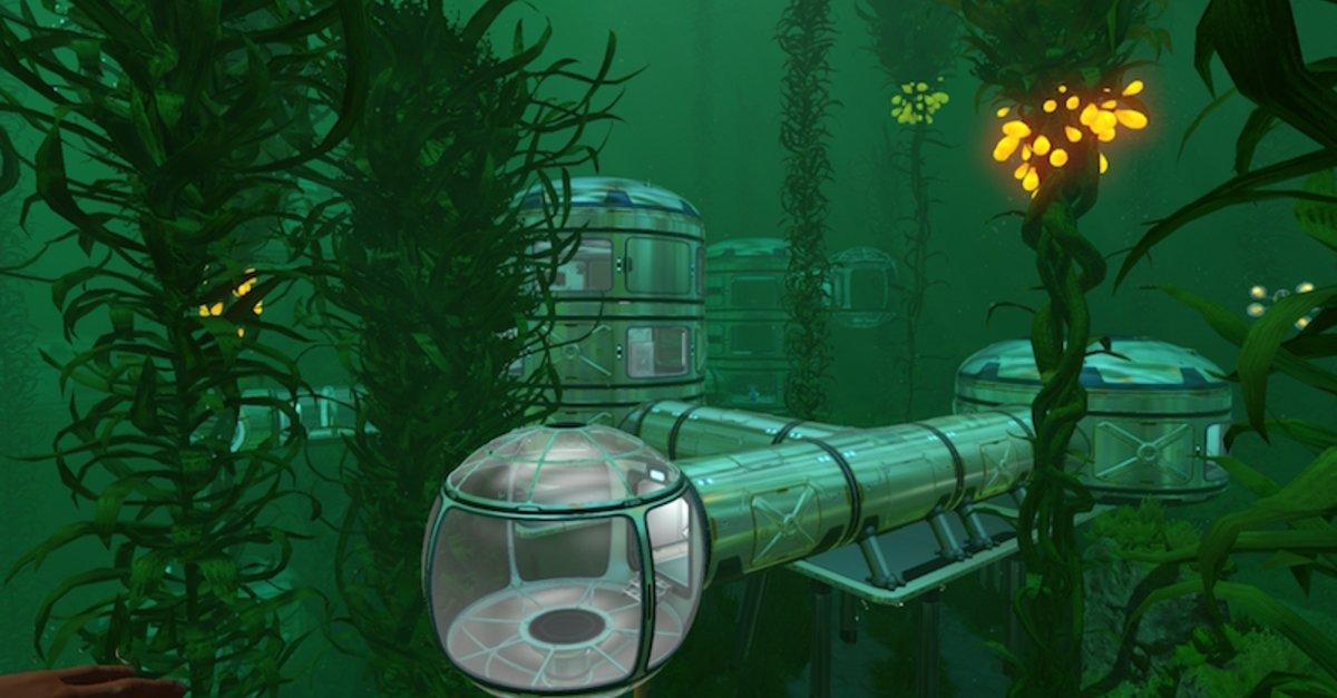 Diese Unterwasser Basis Eines Subnautica Spielers Ist Beeindruckend