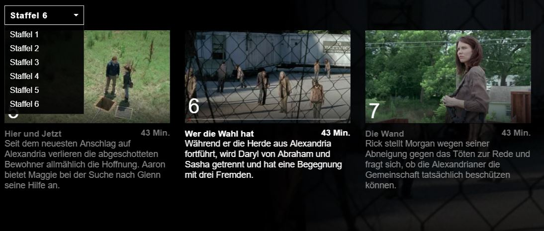 the walking dead ansehen