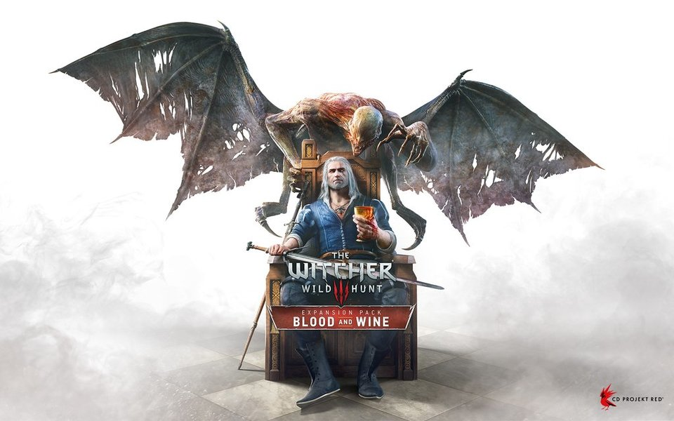The Witcher 3 Blood Wine Cover Artwork