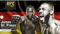 UFC 197 heute im Live-Stream: Jones vs. Saint Preux online in Deutschland sehen