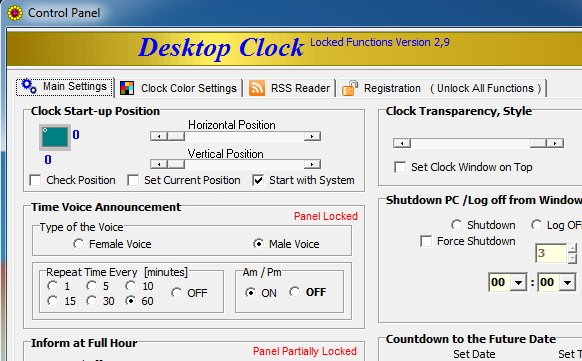 Voice-Desktop-Clock