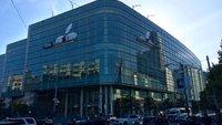 Apple dekoriert Moscone West für WWDC