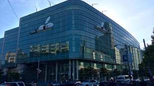 Apple dekoriert Moscone West für WWDC