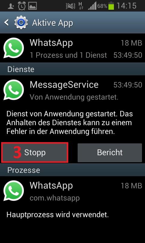 Teil 1. Wiederherstellen der WhatsApp-Meldungssicherungen von der SD-Karte nach der Deinstallation.