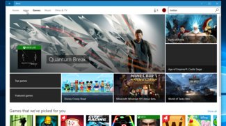Windows Store: Screenshots enthüllen neues Design
