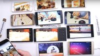 Akku-Vergleich: 11 High-End-Smartphones im Screen-On-Test [Video]