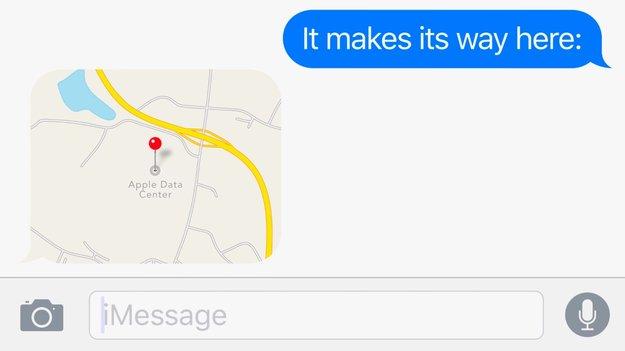 """Apple bewirbt seine """"grünen"""" Daten-Center mit iMessage-Werbespot"""