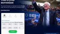 Apple-Mitarbeiter haben 85.000 Dollar für Bernie Sanders gespendet