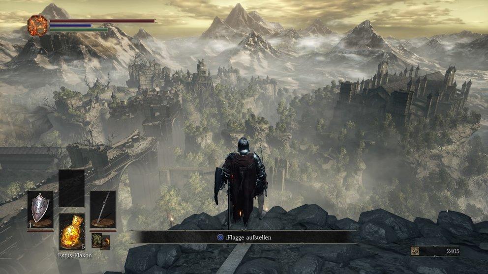 Die vielen Panoramen zeigen euch Orte, die ihr später erkunden könnt.