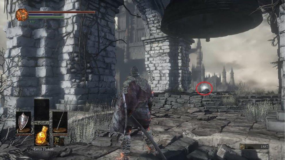 Dark Souls 3 Dunkles Siegel Heilen