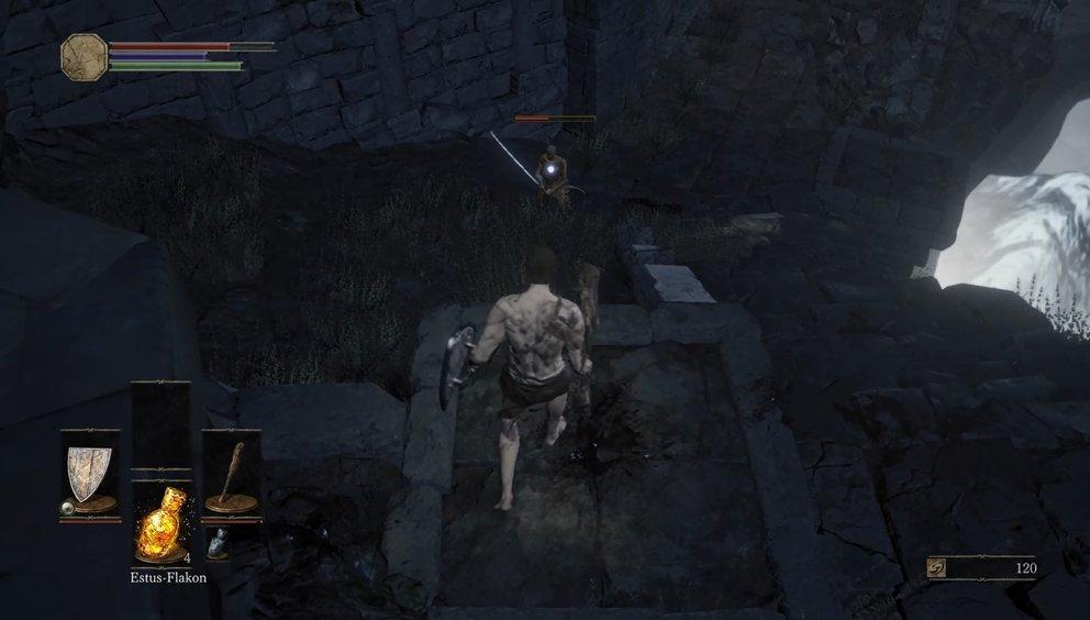 Der Schwertmeister ist gerade zu Beginn ein unangenehmer Gegner.