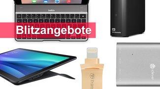 Blitzangebote: Lightning-USB-Stick, 3-TB-Festplatte, Samsung Galaxy View und mehr heute günstiger