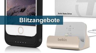 Blitzangebote: Lightning-Dock, iPhone-Akkuhülle von Incipio, SSD u.v.m. heute günstiger