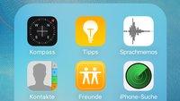 iOS: Vorinstallierte Apps lassen sich vielleicht bald verbergen