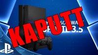 System-Update der PlayStation 4 führt zu Fehlern