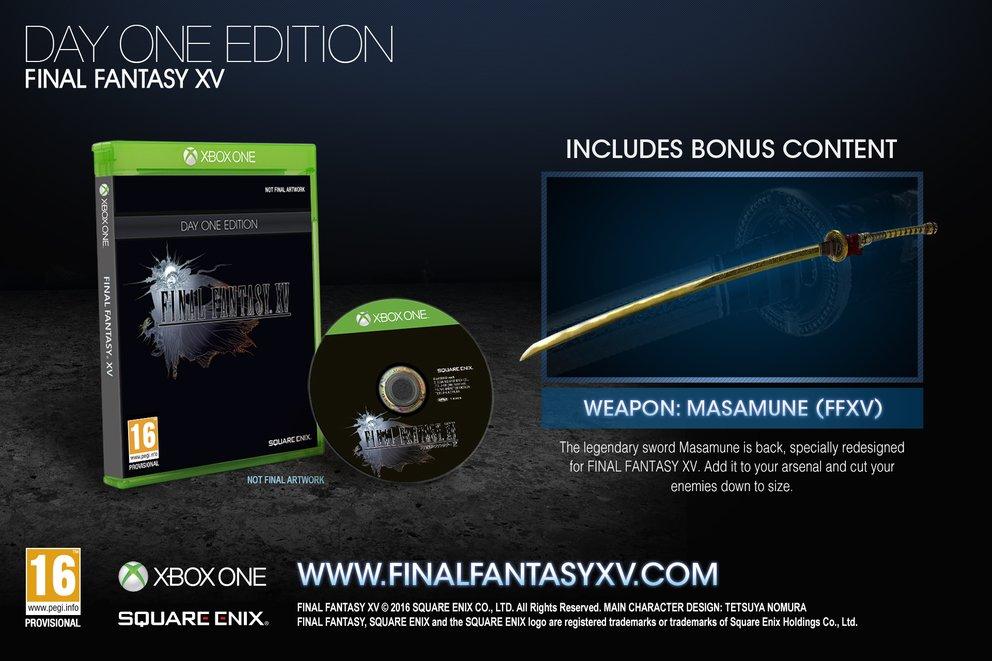Die Day One Edition beinhaltet eine exklusive Ingame-Waffe.
