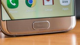Samsung Galaxy S7 (edge): Homebutton soll leicht zerkratzen