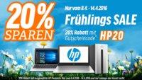 HP Frühlings Sale: 20 Prozent Rabatt auf Spectre x360, Pavilion x2 10 und mehr