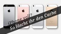 iPhone Cache löschen: So bekommt ihr euren Speicherplatz zurück